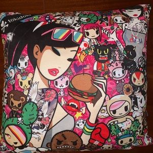 "Limited Edition Tokidoki 16"" Throw Pillow!"